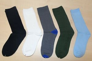 Kid School Socks Bulk White Navy Blue Grey Navy Green Cotton+1 pair Free socks