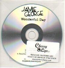 (721K) Jamie George, Wonderful Day - DJ CD