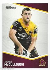2014 NRL Traders (8) Andrew McCULLOUGH Broncos