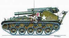 "CMK 1/35 M41 ""Gorilla"" 155 mm Howitzer Motor Carriage RA016"