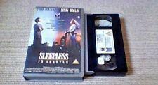 Sleepless In Seattle UK PAL VHS VIDEO 1994 Rare big Box Tom Hanks Meg Ryan Xmas