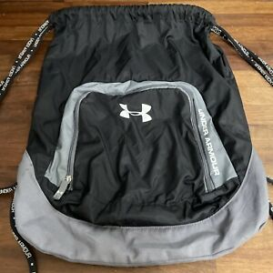 under armour drawstring bag Black Gym Sports VGC