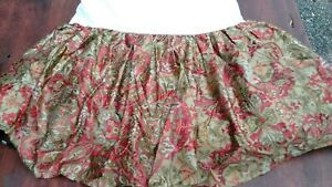 Ralph Lauren Vintage Cal King Bedskirts--All cotton-Most Discontinued-FREESHIP