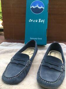 Orca Bay Deck Shoes Ladies Size 5 Genoa Navy