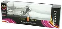 Gold 'N Hot Titanium Triple Barrel Waver Ready in 60 seconds for quick styling
