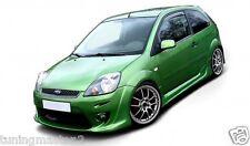 Ford Fiesta MK 6 3 Porte Coppia Minigonne Laterali Tuning maxton design vtr