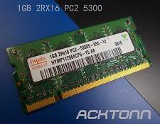 New listing 1Gb Ram 2Rx16 Pc2-5300S-5-5-5-12 Hynix Laptop Notebook Memory Module