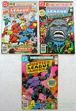 Justice League America #183 184 185 NEWSSTAND Variants 1st Appear DARKSEID Story