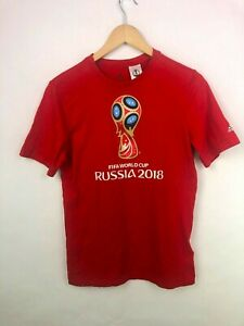 Adidas Fifa World Cup Russia 2018 Red Shirt Size XL