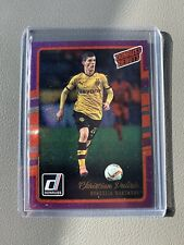 2016-17 Donruss CHRISTIAN PULISIC Donruss Debuts Purple RC USA Rookie