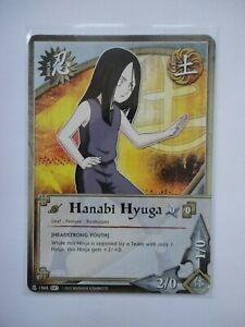 Naruto Karte 3X HUNATA HYUGA (Headstrong youth) - 1565 COMMON