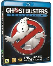 Ghostbusters Collection 1-3 Blu Ray (Region Free)