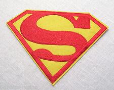ÉCUSSON PATCH THERMOCOLLANT - Insigne SUPERMAN * 8 x 6 cm * applique à repasser