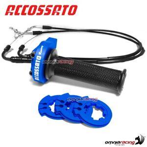 Gas rapido Accossato blu cavi man SUZUKI GSXR600/GSXR750 06>10 MY002BGR001NSU007