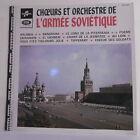 """33T CHOEURS ORCHESTRE DE L'ARMEE SOVIETIQUE Disque LP 12"""" ALEXANDROV VINOGRADOV"""