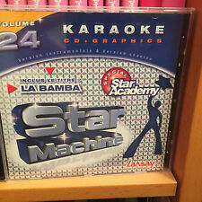 CD KARAOKE LANSAY STAR MACHINE VOL.24 « Star Academy » ETAT NEUF