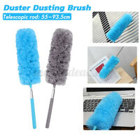 Soft Microfiber Duster Bendable Dusting Brush Household Cleaning Adjustable US
