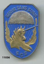 Insigne ,  ECS. /   1  Rgt. de Hussards Parachutistes   , ( 79, peint )