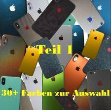 iphone 6 7 X 11 Pro XS Max Xr Skin Wrap Folie Case XS 3M Aufkleber Schutzfolie 8