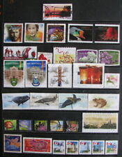 33 Used Canada Stamps from 2007