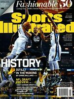 2016 GOLDEN STATE WARRIORS SPORTS ILLUSTRATED STEPH CURRY COVER!! NO LABEL!!!