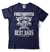 Firefighter T-shirt Best Dads Fathers day Gift T-shirt Birthday Gift for Dad