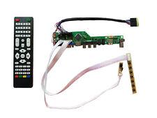 HDMI USB AV VGA ATV LVDS LCD Controller Board for LTN173KT01 LTN173KT02 1600x900