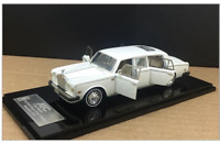 1/43 Rolls-Royce Silver Shadow II Limousine 1977 Open Doors (White)