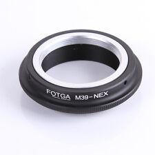 Leica M39 L39 Mount lens to Sony NEX-VG10E NEX-7 NEX-7 NEX-3 NEX-5 Adapter Ring