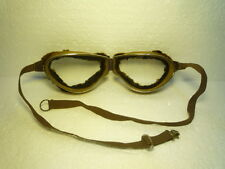 MARVELOUS  ORIGINAL  MILITARY  GOGGLES  WWII  GERMAN  EXTREMELY  RARE