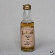 Balblair 10 Years Old Malt Whisky 40% 50ml Mini  Gordon & MacPhail Old Label !!