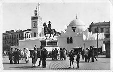BR46363 Alger la mosquee de sidi avderrahman et la statue du duc d Orl   Algeria