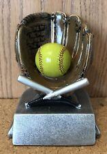 Softball Trophy Resin - Free Engraving