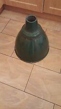 A huge vintage industrial green enameled lamp shade. c 1960