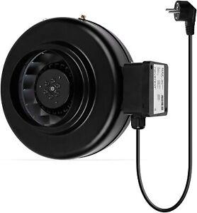 Rohrventilator Rohrlüfter Ventilator 100 125 150 200 mm Profi Lüfter Ablüfter