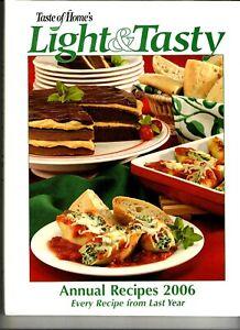 Taste of Home 2006 Light & Tasty Annual Recipes like new hardcover