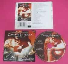 CD SOUNDTRACK CANONE INVERSO Ennio Morricone 2000 VIRGIN 7243 8 48942 2 1 (OST7)