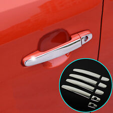 FIT FOR TOYOTA CAMRY 4RUNNER STAINLESS DOOR HANDLE COVER TRIM BEZEL LID OVERLAY