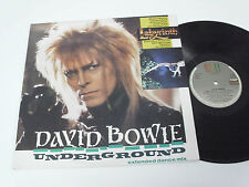 "DAVID BOWIE Underground -12"" Maxi Single PORTUGAL RARE"