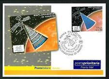 Italia Repubblica 2005  : Esplorazione Marte - cartolina Filatelica perfetta