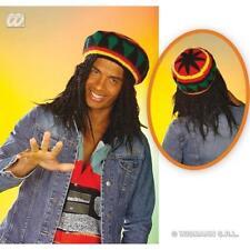 Rasta hat beanie Reggae Bob Marley RASTAFARIAN Giamaica Costume Accessorio 9e8a282c27ef
