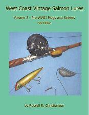 Salmon Plugs and Sinkers Pre-wwii in USA