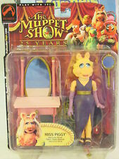 MUPPETS - MISS PIGGY - SERIE ONE-THE MUPPET SHOW-25° ANNO-Palisades Toys-cm. 15