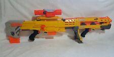 Nerf Gun Longshot CS-6 Gun N-Strike Dart Gun Yellow Sniper Rifle w/ Scope