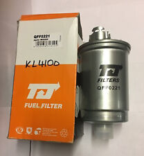 TJ FILTER QFF0221 FUEL FILTER SEAT AROSA 1.7 SDi VW LUPO