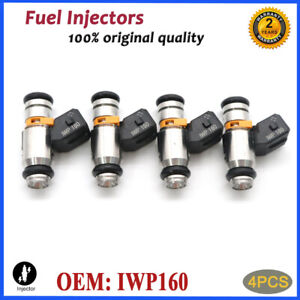 (4) IWP160 New Fuel Injector for Fiat 500 77363790 71792994 71724545 75112160