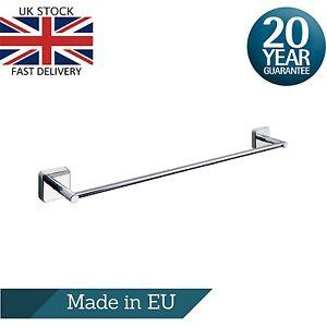 Bathroom Single Towel Rails - 40cm,50cm or 60cm, Stainless Steel, Wall Mounted