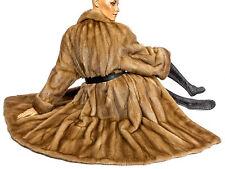 L XL Nerzmantel Nerz Pelzmantel Mantel Vintage honey mink fur coat Pelz Visone