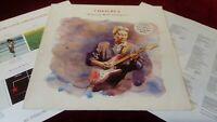 CHRIS REA - DANCING WITH STRANGERS - ORIGINAL LP WITH LYRIC INNER