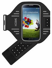 Skech Sport Lightweight Adjustable Armband for Samsung Galaxy S3/S4/S5 Grey